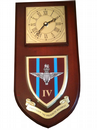 4 bn Parachute Regiment Wall Plaque Clock